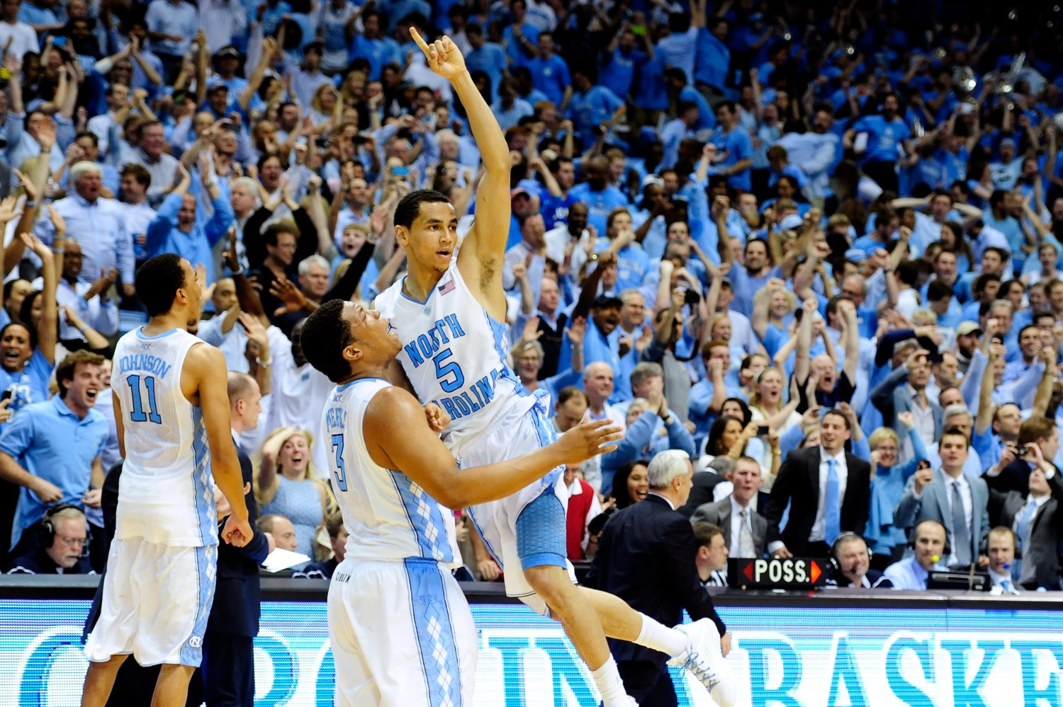 North Carolina 74, #5 Duke 66